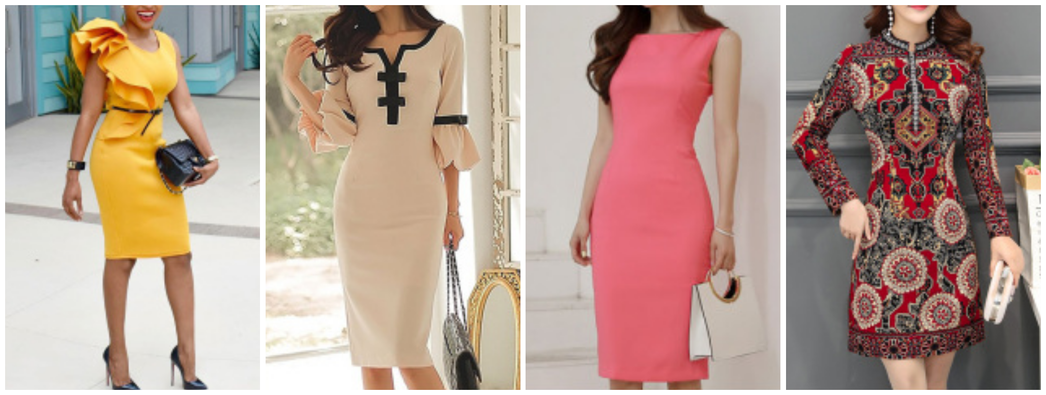 women's bodycon dresses , fashionmia