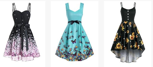 print dress, refresh wardrobe