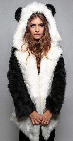 pelliccia sintetica, pellicciotto, capospalla donna invernale