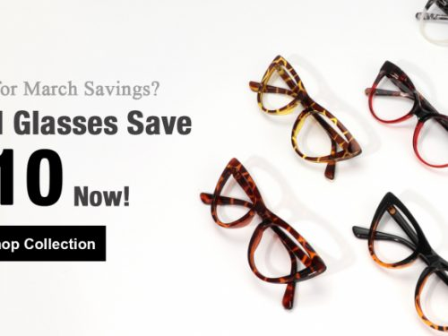Hunting for March Savings? Selected Glasses Save $10 Now on Zeelool!