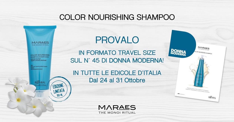 Shampoo Color Nourishing Maraes e Donna Moderna