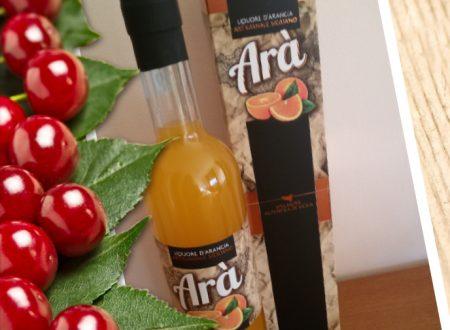 Arà, il liquore all'arancia artigianale siciliano