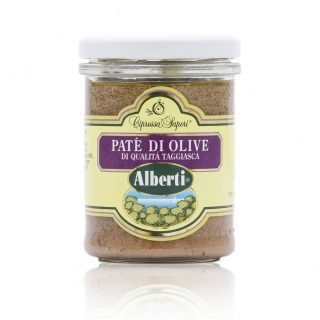 patè olive taggiasche alberti