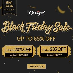 Rosegal Black Friday Sales