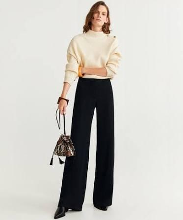 pantaloni e maglione outfit natale